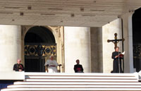 His Holiness Pope Benedict XVI at the Basilica of Saint Peter