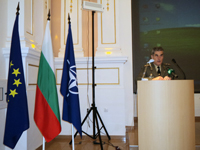 Rakovski National Defence Academy Commandant Major General Gorgijev welcomes NDC Senior Course 117
