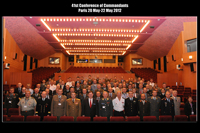 41st Conference of Commandants group photo