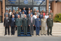 Senior Executive Regional Course participants at the NATO Defense College