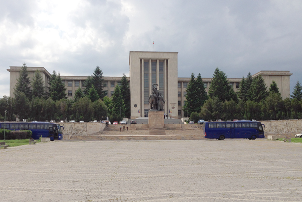 The Carol I National Defence University in Bucharest: venue for the 43rd Conference of Commandants.
