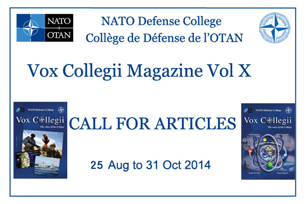 Call for Articles - Vox Collegii Magazine X