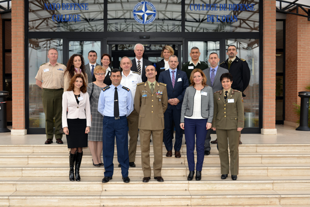 Participants to the 2015 Liaison Officers' Planning Conference at the NATO Defense College