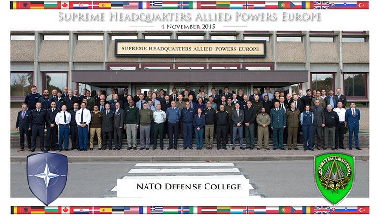 SC 127 group photo at Supreme Headquarters Allied Powers Europe (SHAPE)
