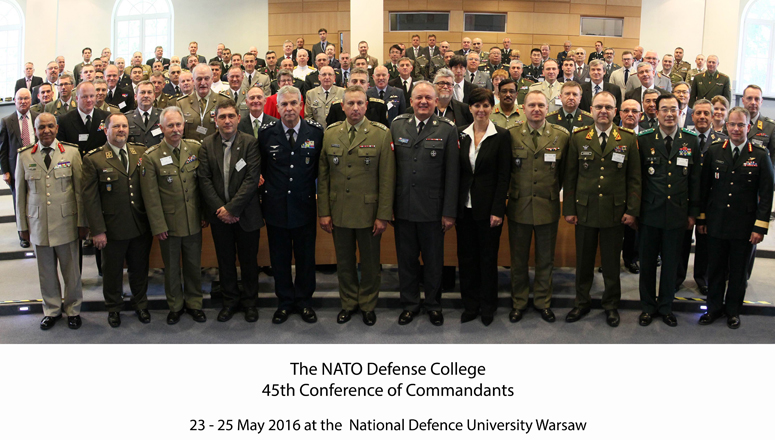 Participants to the 45th Conference of Commandants