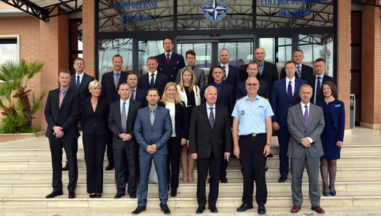 The Baltic Defence College Joint Command and General Staff Course at the NDC