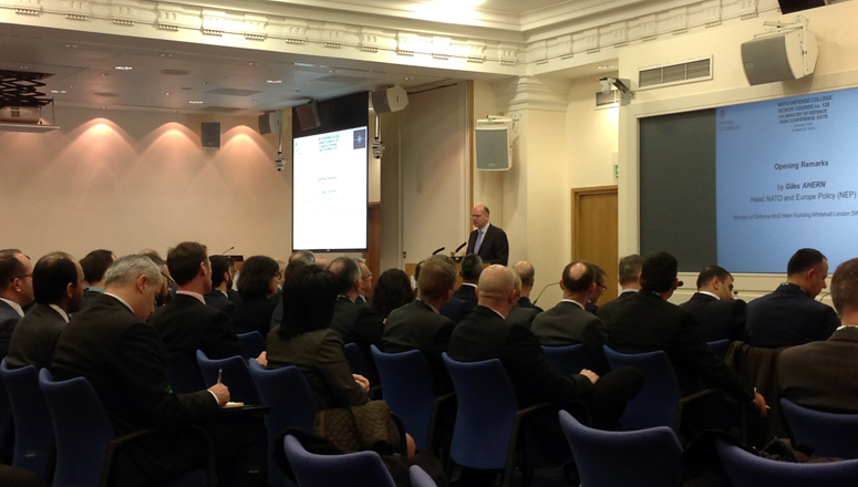 Opening remarks by Mr Giles Ahern, Head of NATO and Europe Policy at the UK MOD