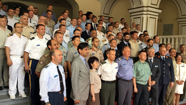 Senior Course 128 at the National Defence University in Kiev