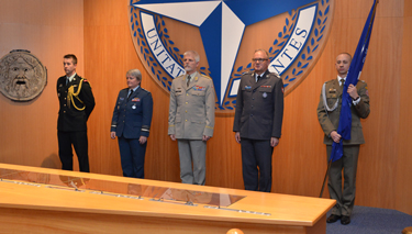 Change of Command at the NATO Defense College