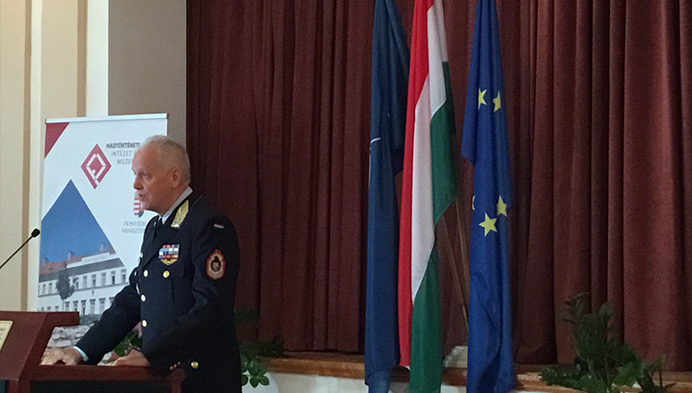 LtGen Dr Zoltan Orosz, Deputy Chief of Defence of the Hungarian Defence Forces, addresses SC 129.