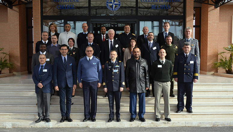Participants to the 2017 Liaison Officers' Planning Conference at the NATO Defense College
