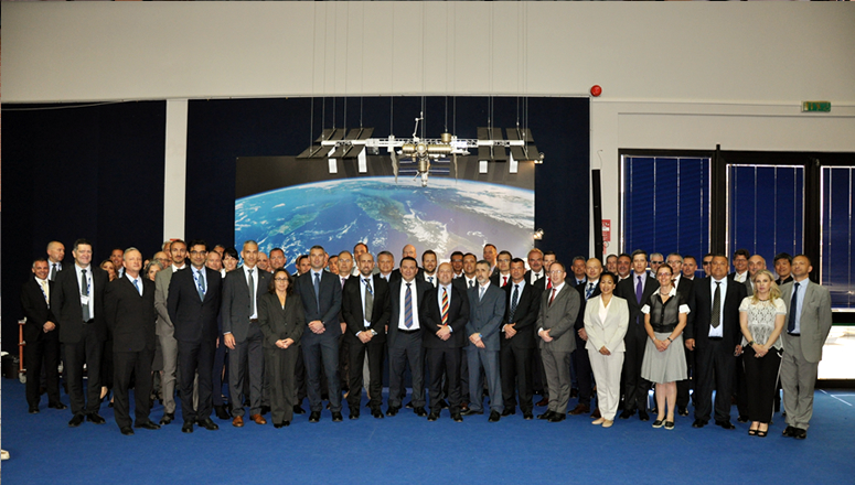 The NDC visits the European Space Research Institute (ESRIN)