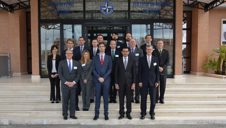 "Participants to the  Roundtable on ""The role of NATO's armed forces in providing cyber security to critical infrastructure"""
