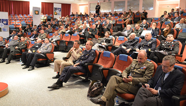 Participants to the Civil-Military Centre of Excellence Community of Interest and Annual Discipline Conferences at the NATO Defense College