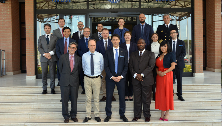 "Participants to ""The Eastern Flank Five Years post Wales – authors' workshop"" at the NATO Defense College"