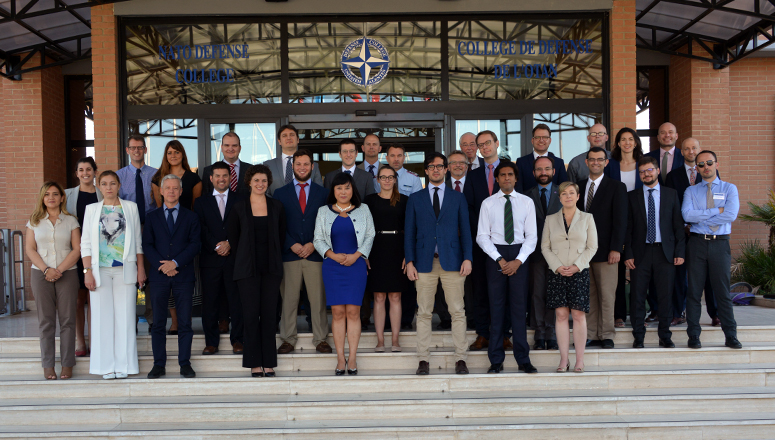 Participants to the   Nuclear Strategists Workshop at the NATO Defense College