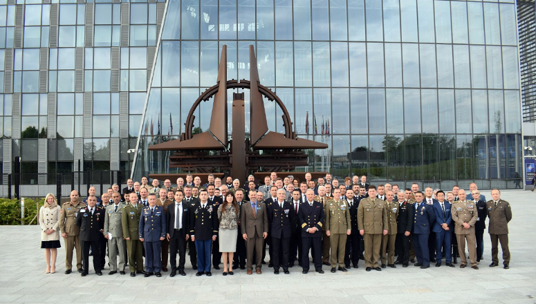 Senior Course 134 at the NATO HQ