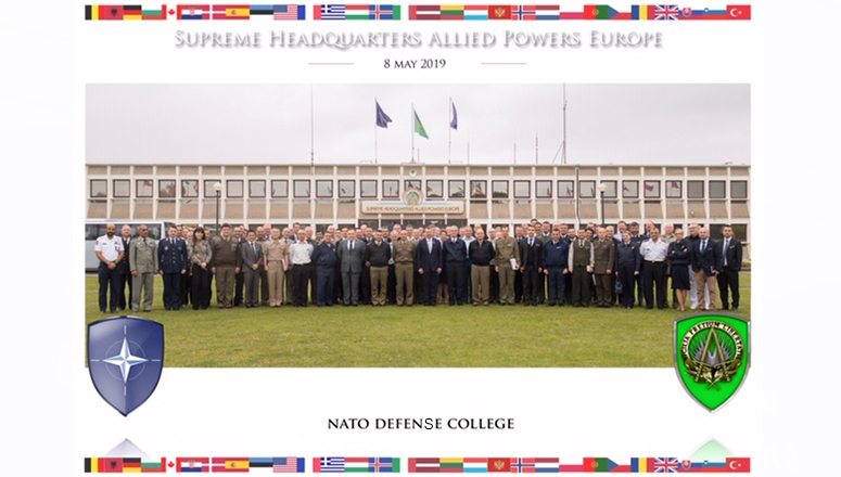 Senior Course 134 at Supreme Headquarters Allied Powers Europe (SHAPE)