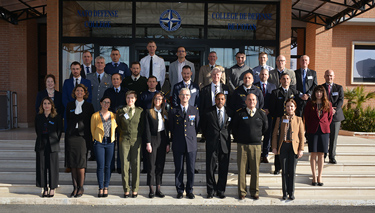 Participants to the NDC Field Studies Planning Conference 2020 at the NATO Defense College