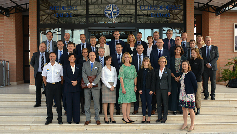 The Senior Executive Course, Norwegian Defence University College, at the NATO Defense College