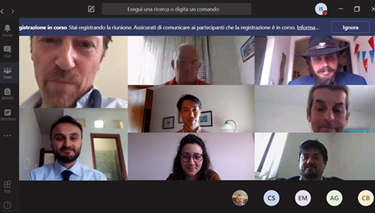 Participants to the (virtual) Research meeting