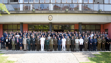 "Participants to the 47th Conference of Commandants at the Croatian Defence Academy ""Dr Franjo Tuđman"""