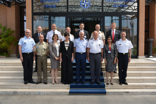 Participants to the 2015 NDC Academic Advisory Board at the NATO Defense College