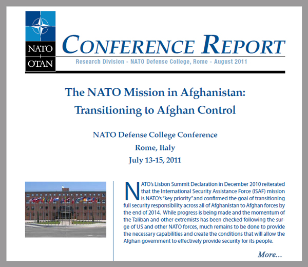 nato defense college research papers Research paper issn 2076 - 0949 nato defense college research division to a laboratory of the connected forces initiative contents.