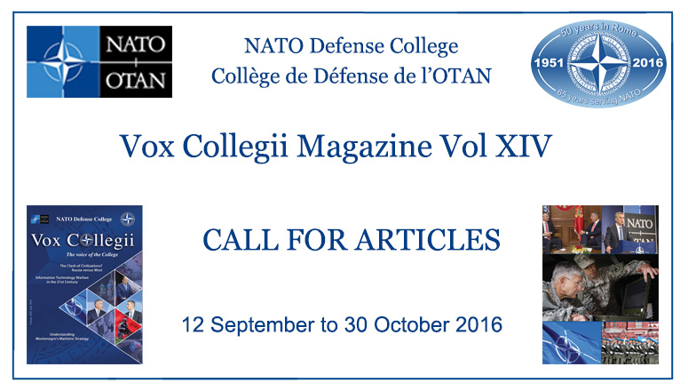 Call for Articles - Vox Collegii Magazine XIV