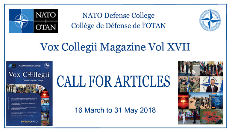 Call for Articles Vox Magazine Vol XVII (17)