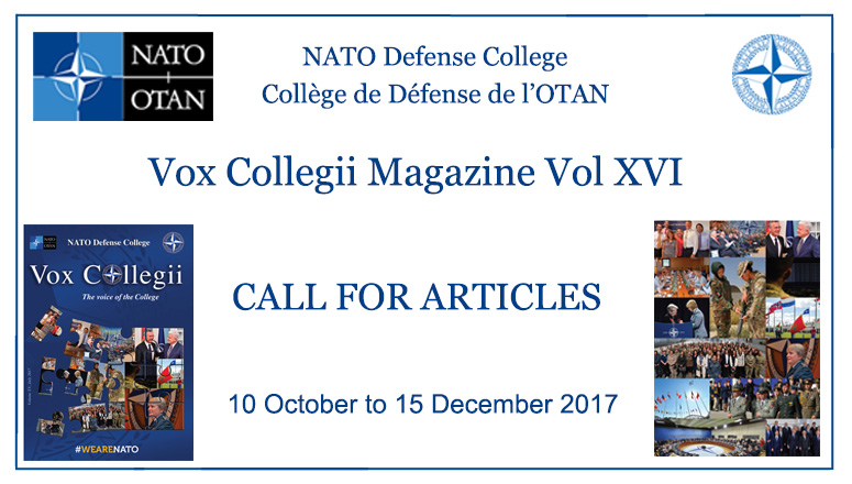 Call for Articles - Vox Collegii Magazine XVI