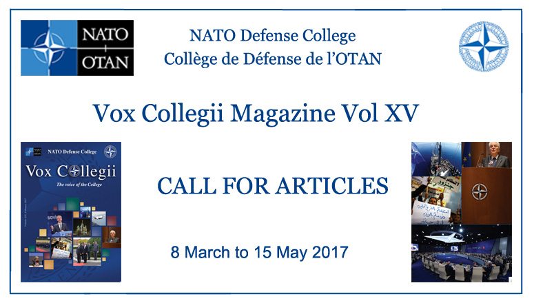 Call for Articles - Vox Collegii Magazine XV