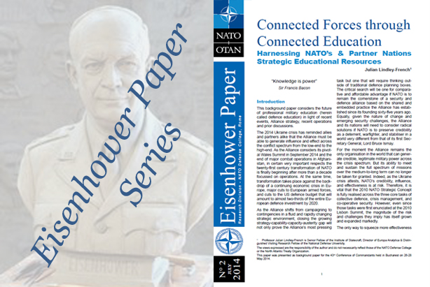 "Eisenhower Paper 2: ""Connected Forces through Connected Education -  Harnessing NATO's & Partner Nations Strategic Educational Resources"""