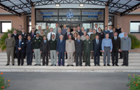 GFOAC 2014 - 2 group photo with Course Director BrigGen. Feldmann (first row, right) and senior NDC leaders