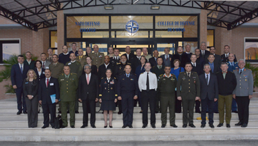 Participants to the Generals, Flag Officers and Ambassadors' Course 2016-2 at the NATO Defense College