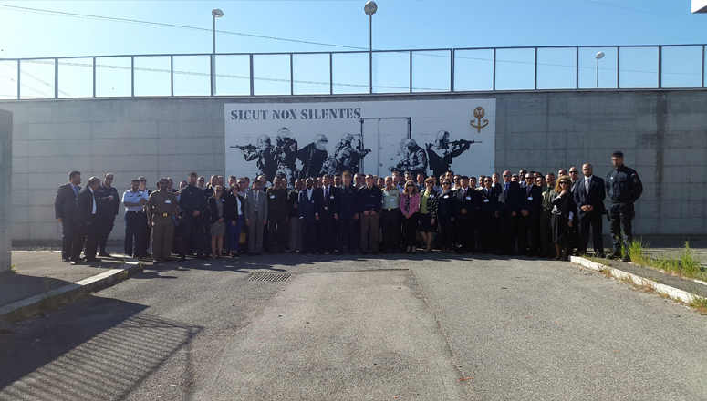 NDC delegation at the Italian Central Security Operations Service