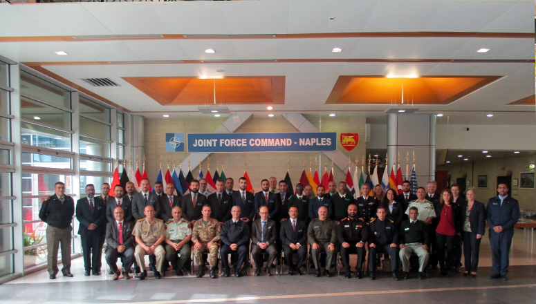 NATO Regional Cooperation Course 20 at Allied Joint Force Command Naples