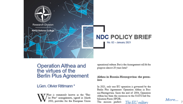 NDC Policy Brief 02-21