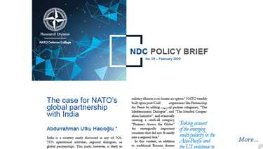NDC Policy Brief 3-20