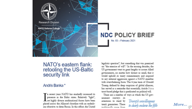 NDC Policy Brief 03-21