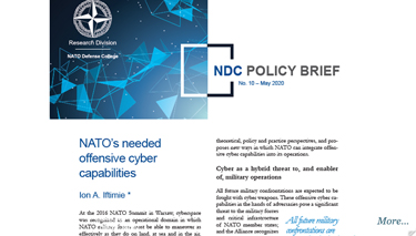 NDC Policy Brief 10-20