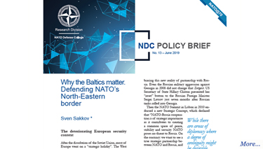 NDC Policy Brief 13-19