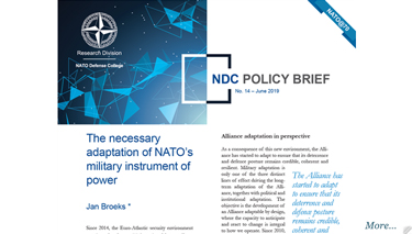 NDC Policy Brief 14-19