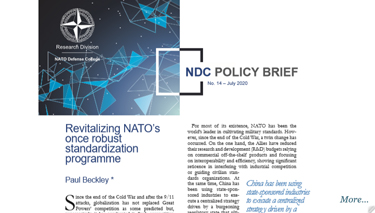 NDC Policy Brief 14-20