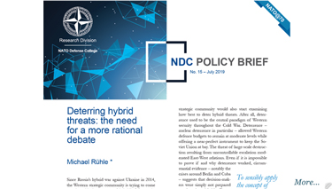 NDC Policy Brief 15-19