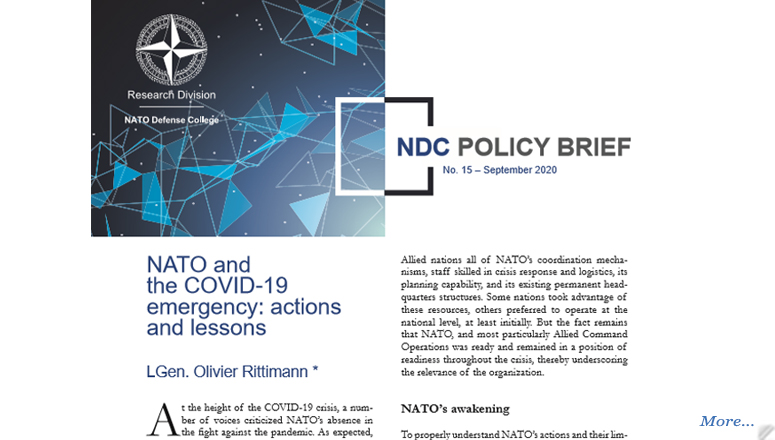 NDC Policy Brief 15-20