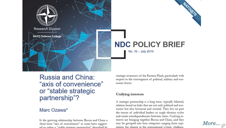 NDC Policy Brief 16-19