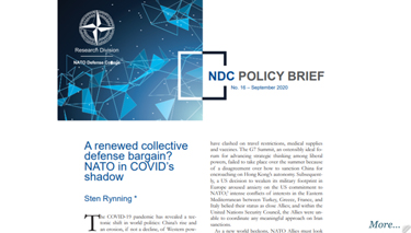 NDC Policy Brief 16-20