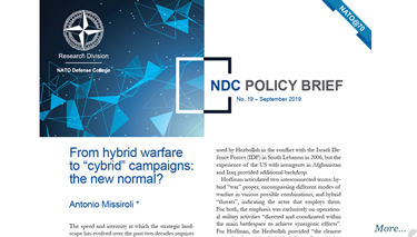 NDC Policy Brief 19-19