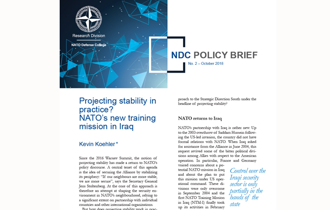 NDC Policy Brief 2-18